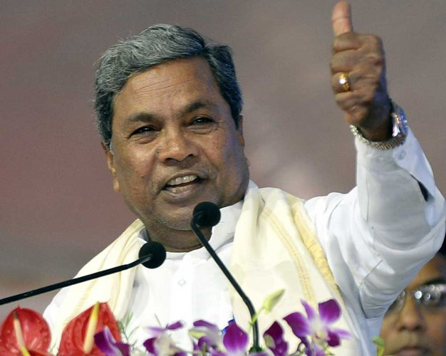 Home minister can't resign for everything: Siddaramaiah