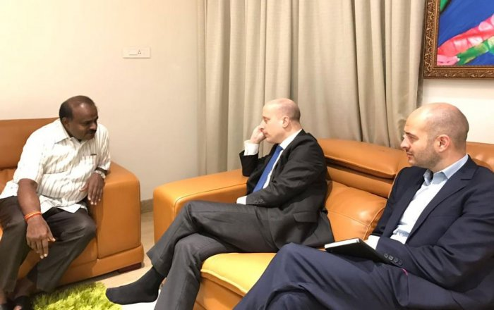 'I will be king, not king maker', HDK tells British envoy
