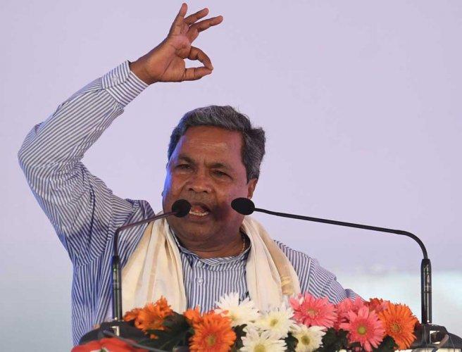 RSS, Bajrang Dal members are terrorists: Siddaramaiah