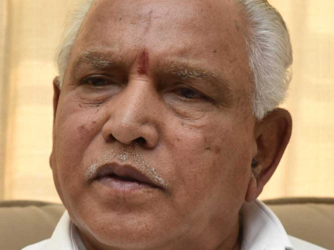 Dalits must not vote for Cong says Yeddyurappa