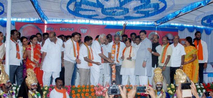 CM is involved in criminal activities, says Yeddyurappa