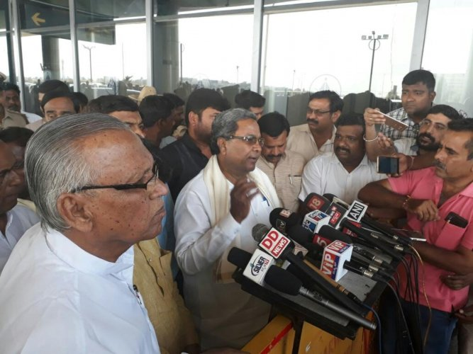 NE poll results will not affect outcome in Karnataka elections: CM Siddaramaiah