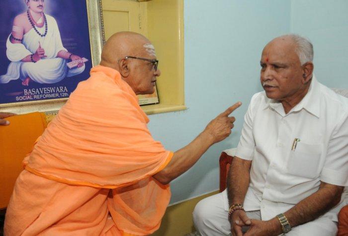 Can't accept 'corrupt' CM's challenge, says Yeddyurappa