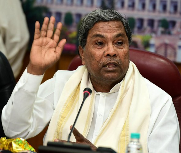 It's new low in politics, says CM Siddaramaiah on BJP barbs