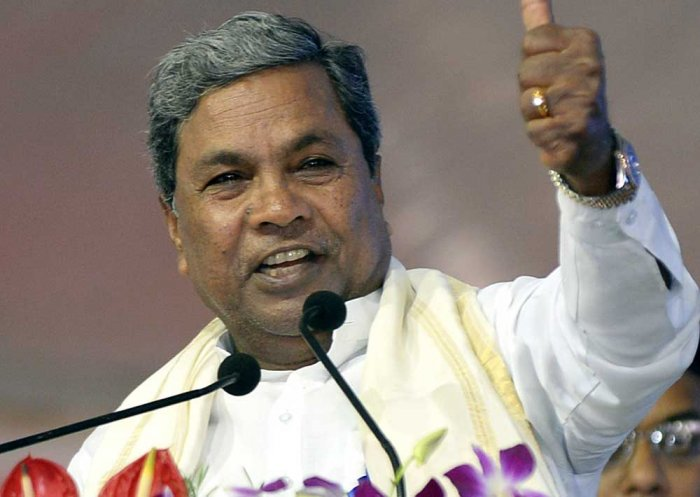 Siddaramaiah bats for primacy for Kannada and state's own flag in farewell post