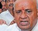 Assembly ruckus: Gowda flays Yeddyurappa