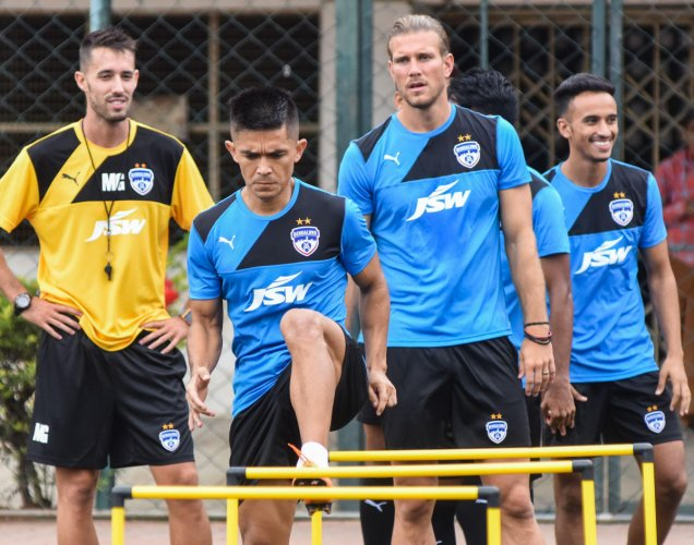 d948d0e70 Bengaluru FC are all set to face their stiffest test yet when they taken on  Barcelona