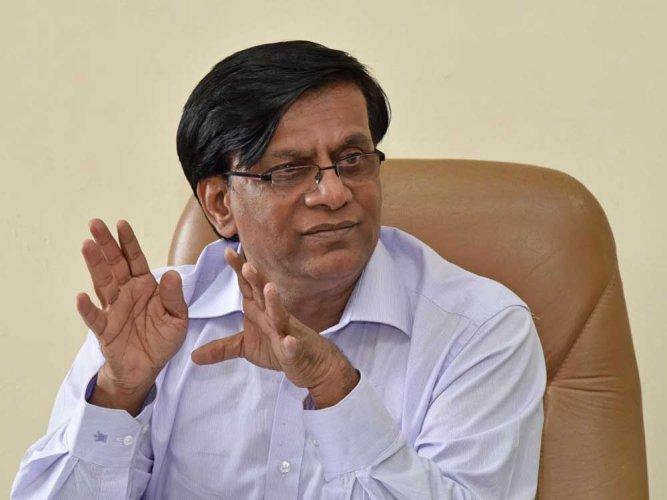Former minister Basavaraj Rayareddi. DH file photo