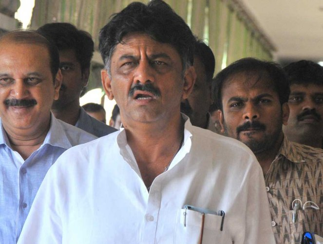 Water Resources Minister D K Shivakumar on Tuesday denied interfering with the affairs of the Belagavi district, a charge the Jarkiholi brothers have repeatedly levelled against him. DH file photo