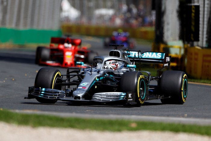 Mercedes driver Lewis Hamilton topped the timecharts in the first free practice for the season-opening Australian Grand Prix. Picture credit: Mercedes