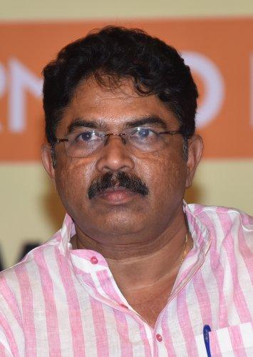 Senior BJP leader and former deputy chief minister R Ashoka. (DH File Photo)