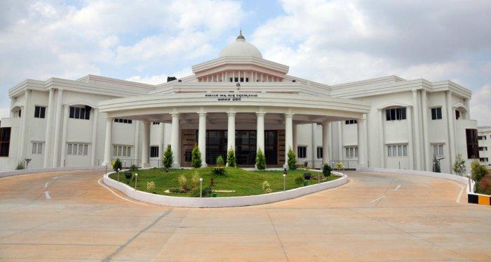 Karnataka State Open University (KSOU) in Mysuru.