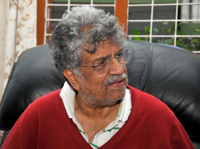 Pandit Rajeev Taranath, 86, is a disciple of the legendary Ustad Ali Akbar Khan.