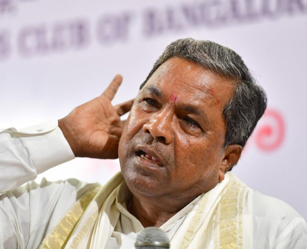 A video clip in which Siddaramaiah expresses disappointment over the presentation of a fresh budget has gone viral
