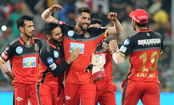 ON A HIGH Royal Challengers Bangalore will be hoping to string together another team performance when they take on Rajasthan Royals in the final league encounter on Saturday. DH PHOTO/ SRIKANTA SHARMA R