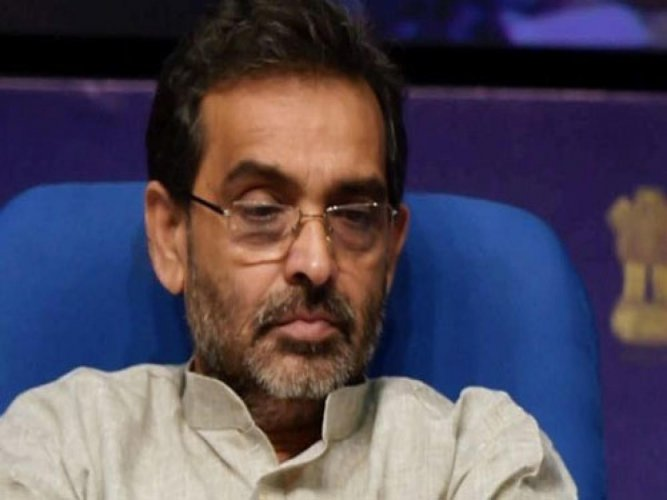 Upendra Kushwaha's moves have raised suspicion in the NDA circles as to whether his party RLSP will switch sides by the time of 2019 General Elections. PTI file photo
