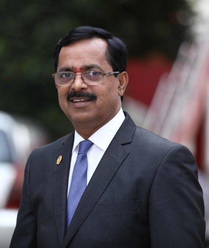 FKCCI President Sudhakar S Shetty