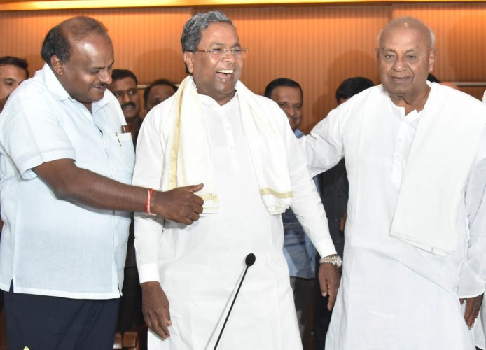 Siddaramaiah, who is also the head of the coalition coordination committee, said the much-awaited expansion of the H D Kumaraswamy-led cabinet would take place at the earliest. (DH File Photo)