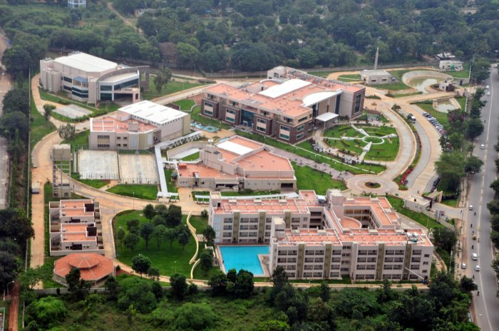 Aerial view of new HAL Management Academy Campus in Bengaluru. (Pic: HAL)