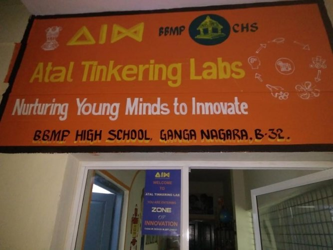 Tinkering labs at BBMP school