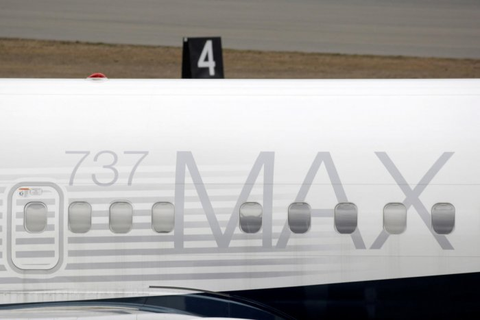 A Boeing 737 MAX 8 aircraft is parked at a Boeing production facility in Renton, Washington. (Reuters File Photo)