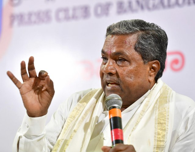 Chief Minister Siddaramaiah said, the BJP is misusing the Income Tax department to raid the premises of Congress leaders in Karnataka at the behest of Prime Minister Narendra Modi and BJP National President Amit Shah. DH file photo