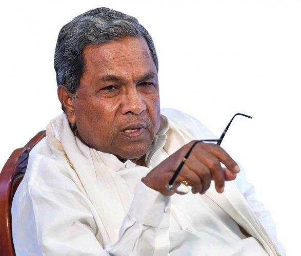 Congress Legislature Party (CLP) leader Siddaramaiah. DH file photo