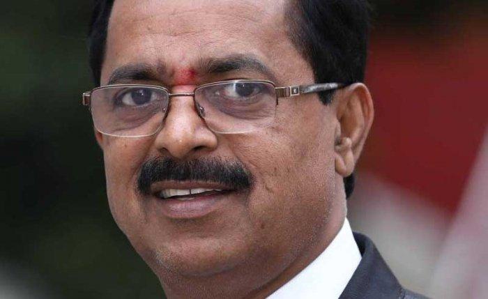 FKCCI President Sudhakar Shetty