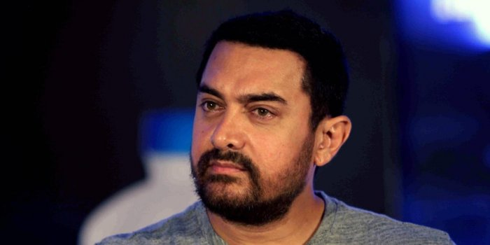 Indian Bollywood actor Aamir Khan. AFP file photo