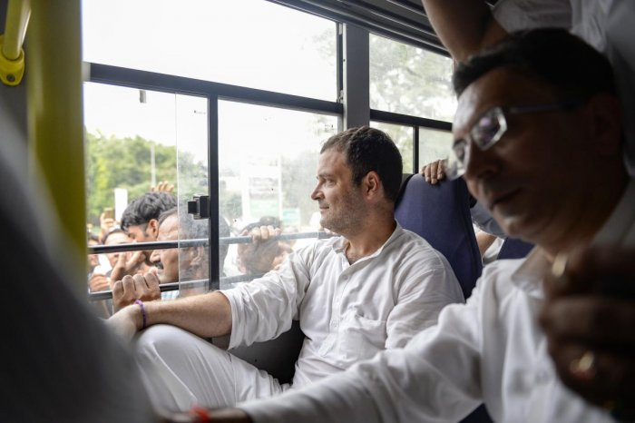 Highly-placed sources told DH that several leaders, including those holding plum positions in the party, want Rahul to choose a seat from Tamil Nadu to milk the visible anti-Modi sentiment in the state or from Karnataka where the party has stitched up an alliance with the JD(S).
