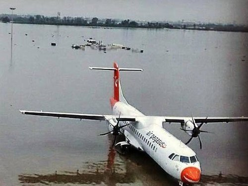 IAF to evacuate stranded passengers from Chennai airport