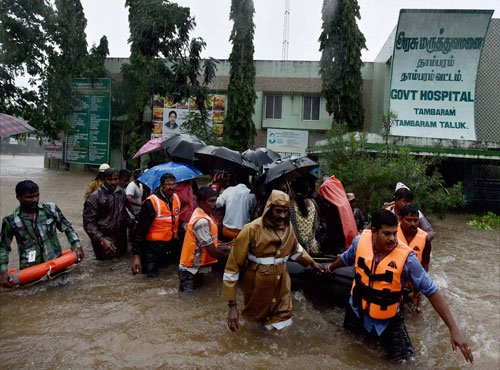 Chennai residents a worried, harried lot