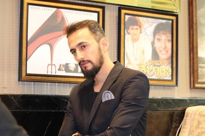 IMPACTFUL Iranian director Ali Ebrahimi