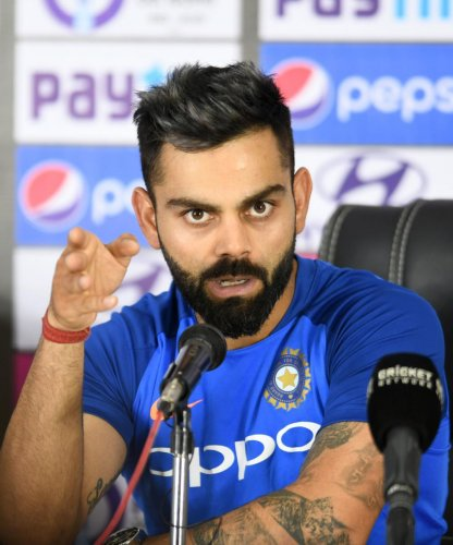 India captain Virat Kohli. AFP file photo