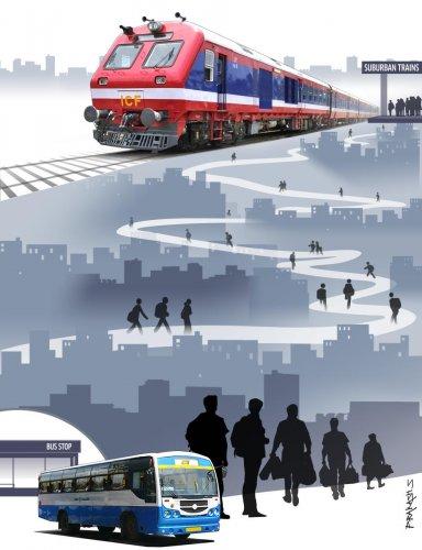 Rail-bus connectivity