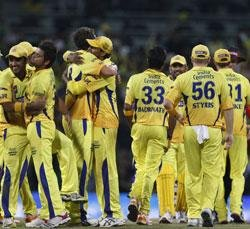 CSK hold nerve, clinch thriller