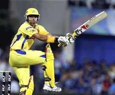Chennai Super Kings of IPL Three