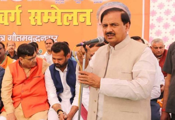 """A day after his statement on MPs duty to fulfil citizen's wishes, Union Minister of State for Culture Mahesh Sharma launched a new tirade at Opposition leaders in Sikandarabad in Uttar Pradesh's Bulandshahr district. During a political rally, he asked the crowd """"who will watch Mamata's Kathak and listen to Karnataka Chief Minister Kumaraswamy's song here?"""""""