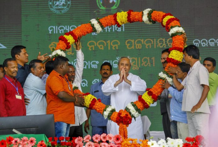 This is for the first time in his political career that four-time Chief Minister Naveen Patnaik will be fighting the polls from two Assembly seats simultaneously. PTI file photo