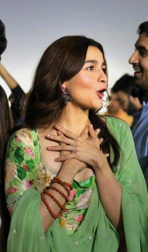 Alia Bhatt to star opposite to Salman Khan in Sanjay Leela Bhansali's Inshallah. PTI Photo