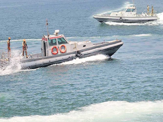 The coast Guards first rescued 11 crew on the fishing boat Immanuel Kunhappa, floating in the sea about 46 nautical miles off Karwar coast, due to engine failure. (File photo for representation)