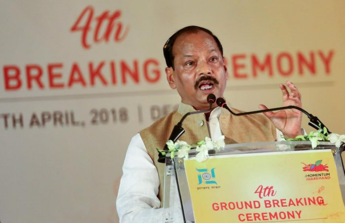 The protest held when BJP leaders including Jharkhand Chief Minister Raghubar Das added prefix Chowkidar with his name on Twitter as part of #MainBhiChowkidar campaign of the party.