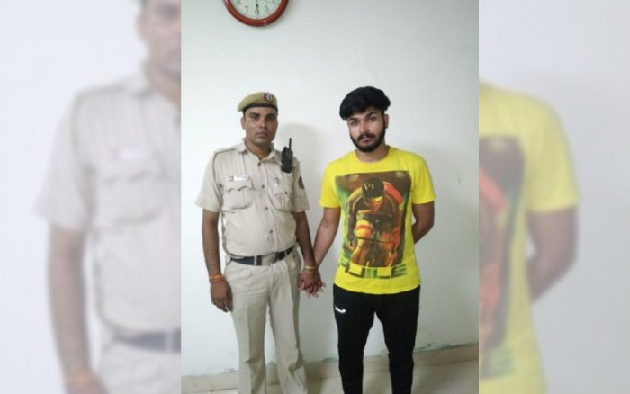 The main accused, Rohit Tomar, 21, was arrested Friday after Union Home Minister Rajnath Singh tweeted that the video has come to his notice and he has directed Delhi Police Commissioner Amulya Patnaik to take necessary action in the matter. (ANI Photo/Twitter)