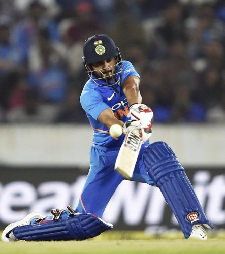 Despite injury concerns, Kedar Jadhav has produced solid performances quite consistently to all but seal his spot for the World Cup. PTI