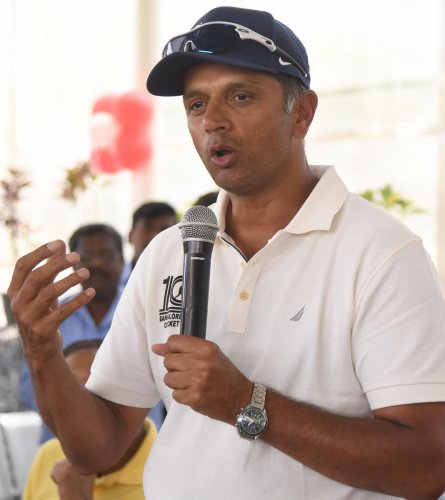 Notwithstanding the ODI series defeat to Australia, Rahul Dravid says India will be one of the favourites at the World Cup. DH Photo