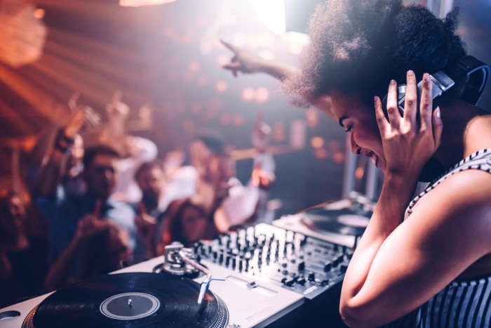 Keep away from speakers while at a club or a rock concert. If it is hurting you, step away from the loud music for some time.