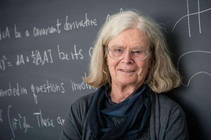 With the award, Uhlenbeck joined a still very small club of women who have scored a scientific prize. AFP File Photo