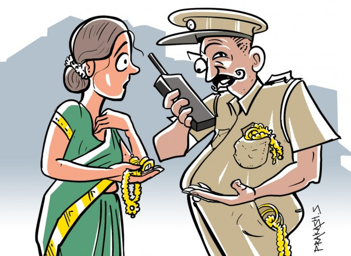.Police arrested Syed Abubakar,40, of Chandra Layout, who used attention diversion on 40 women and took away their gold chains worth Rs 50 lakh.