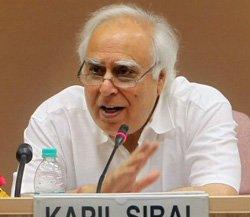 Sibal skips IIT meet