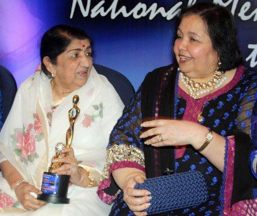 Lata Mangeshkar gets Yash Chopra memorial award
